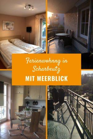 Ferienwohnung in Scharbeutz mit Meerblick