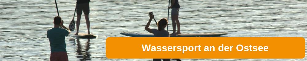 Wassersport an der Ostsee