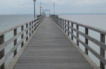 Seebrücke in Haffkrug