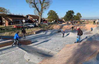 Skaterpark in Scharbeutz an der Ostsee