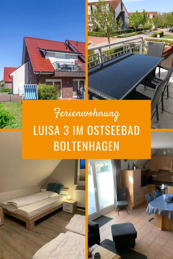 Ferienwohnung Luisa 3 im Ostseebad Boltenhagen