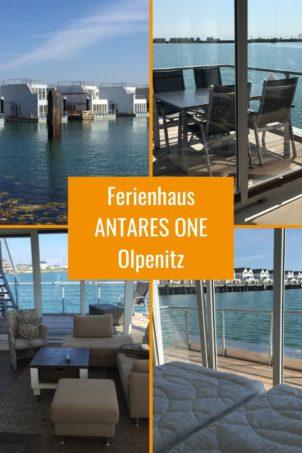Schwimmendes Ferienhaus ANTARES ONE mitten im Hafen