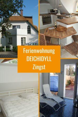 3-Zi-Ferienwohnung DEICHIDYLL in unmittelbarer Strandnähe