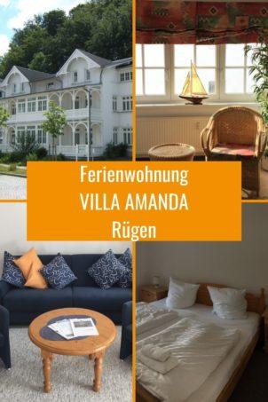 2-Zi-Ferienwohnung in VILLA AMANDA
