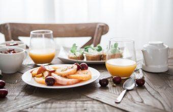 Frühstücken in Warnemünde