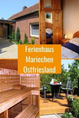 Ferienhaus Mariechen bis 2 Personen